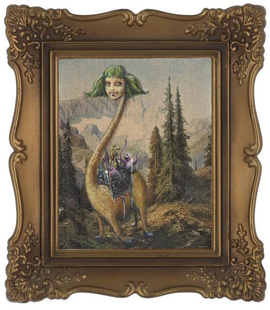 monster framed
