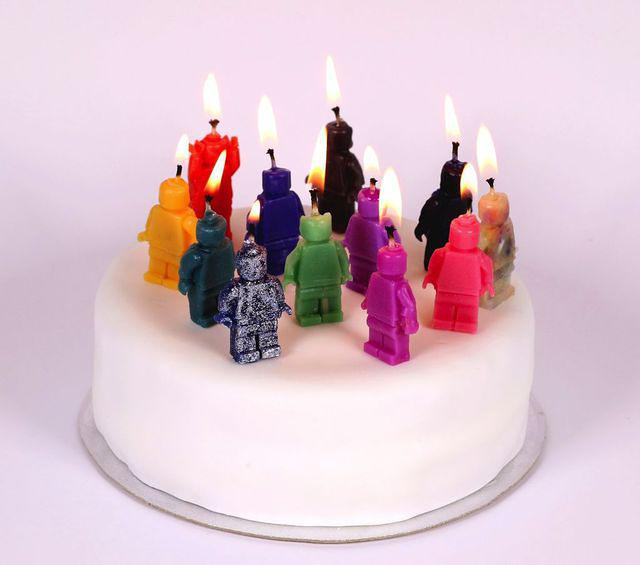 Candles on Cake
