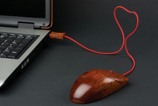 Wooden Mouse A