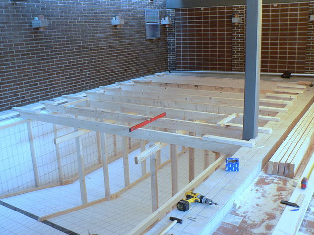 Pool framing