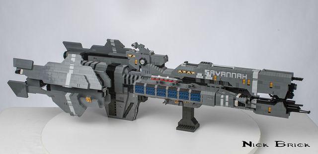 USNC Savannah LEGO 1