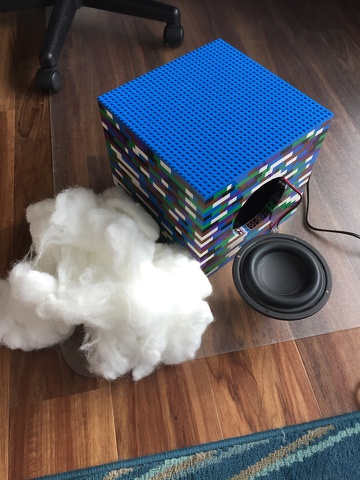 adding insides to the speaker