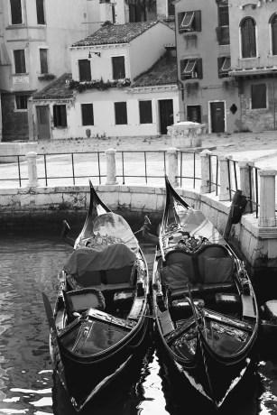 two-gondolas-black-and-white-carla-pivonski