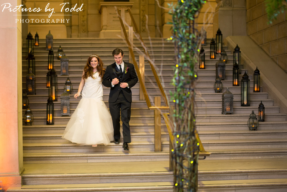 Pictures by Todd Photography  Magic Garden Themed Wedding at Free Library of Philadelphia