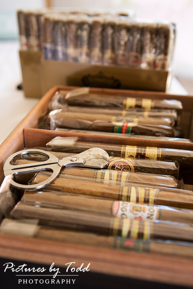 Pictures by Todd Photography  Cigar Bar  Wedding Ideas