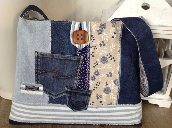 30 Variants Of Bags Made From Old Jeans