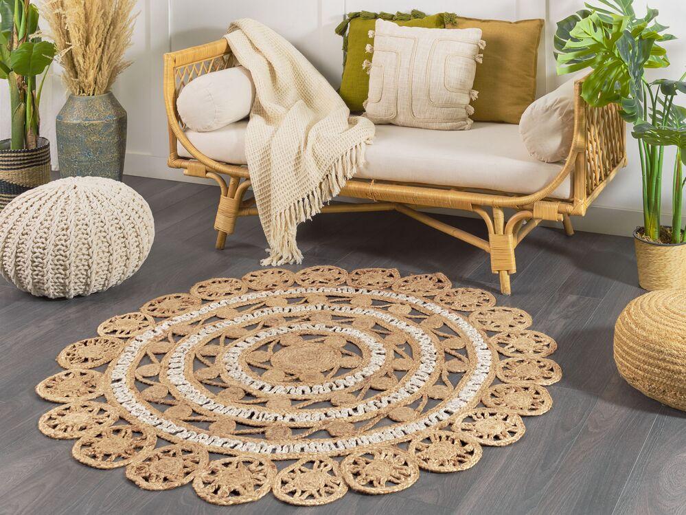 teppich laleli beige 140 cm ch