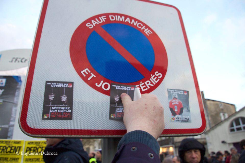 La Rochelle, mobilisation calme contre la loi El Khomri !
