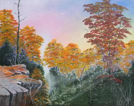 Autumn Splendor 16x20 Canvas Panel