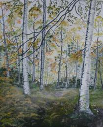 Woodland Splendor 20x16 Canvas Panel