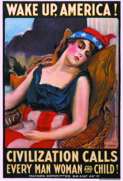 World War I  US British Canada German Propaganda