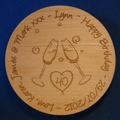 engraved wooden coaster10