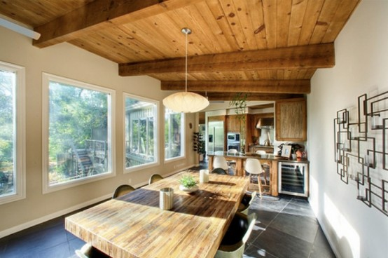 Design Inspiration Pictures: Modern Rustic House Across