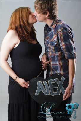Alaister and Chantel maternity shoot