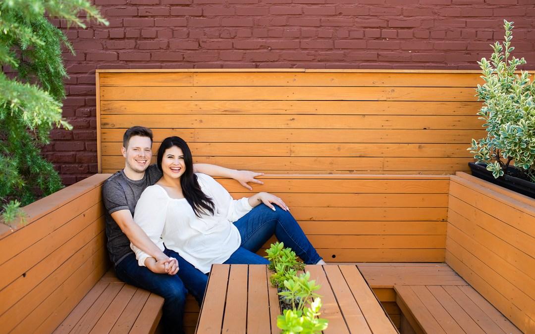 Nicole + Tim | Downtown Engagement Session | Tulsa, Oklahoma