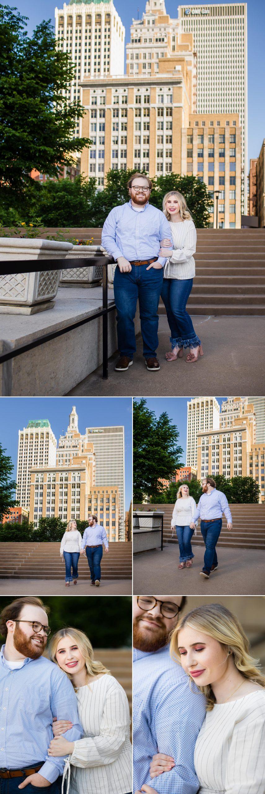 Downtown Tulsa Engagement