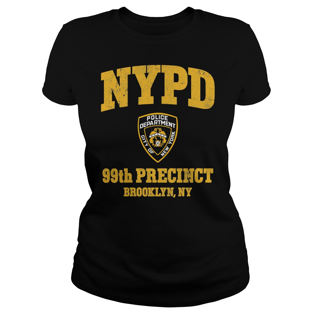 99th Precinct Brooklyn NY Police Department NYPD Ladies tee