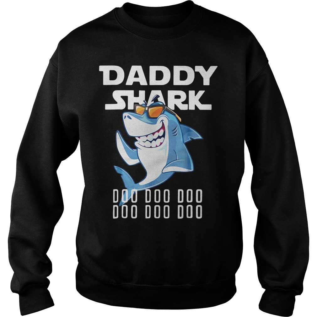 Daddy Shark Doo Doo Doo Upgrade version Sweater