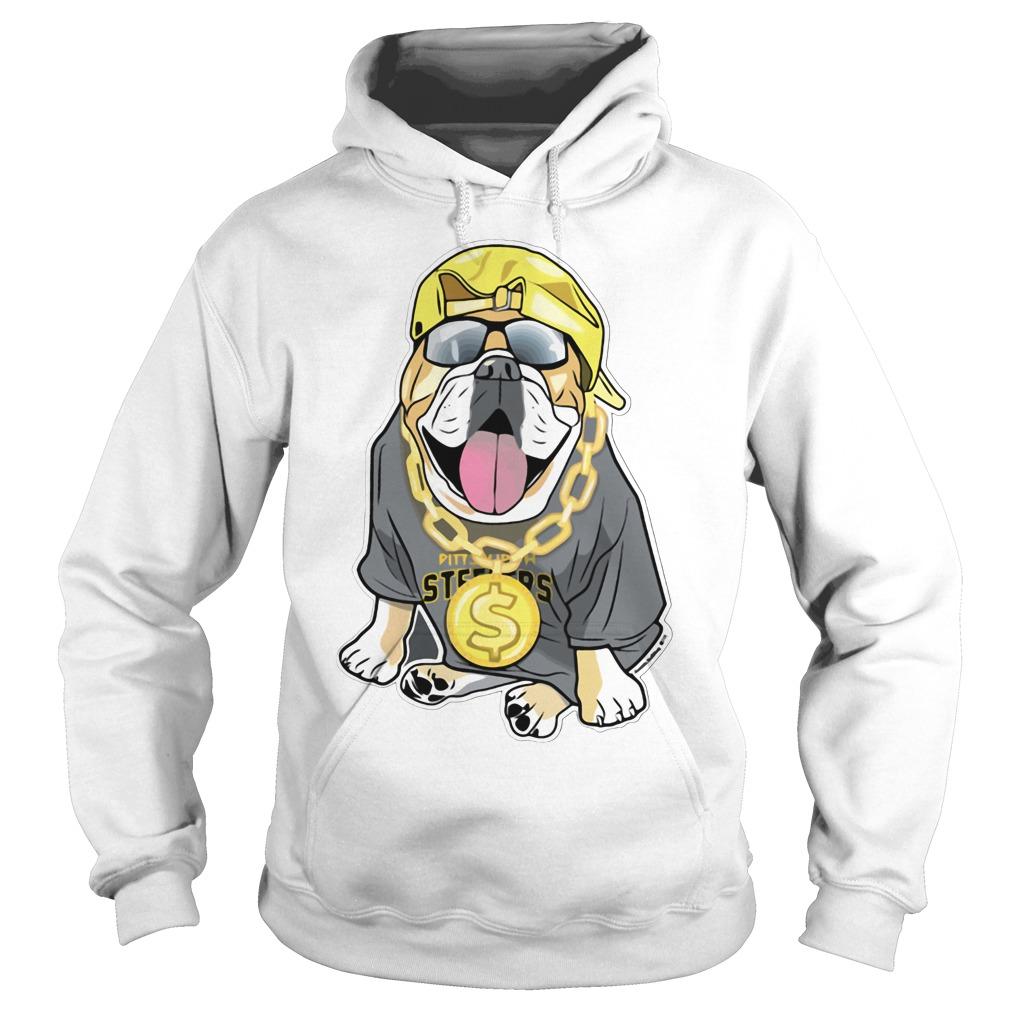 Fenway Forever artistic bulldog Pittsburgh Steelers Hoodie