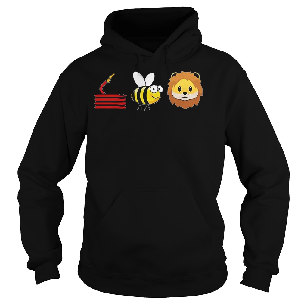 Funny Hose Bee Lion Hoodie