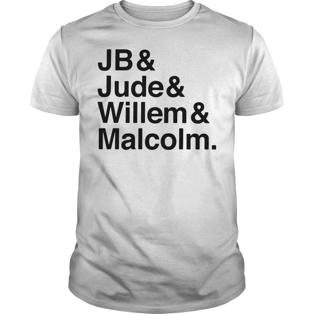 Jb Jude Willem Malcolm Queer Eye A little Life book Guys tee