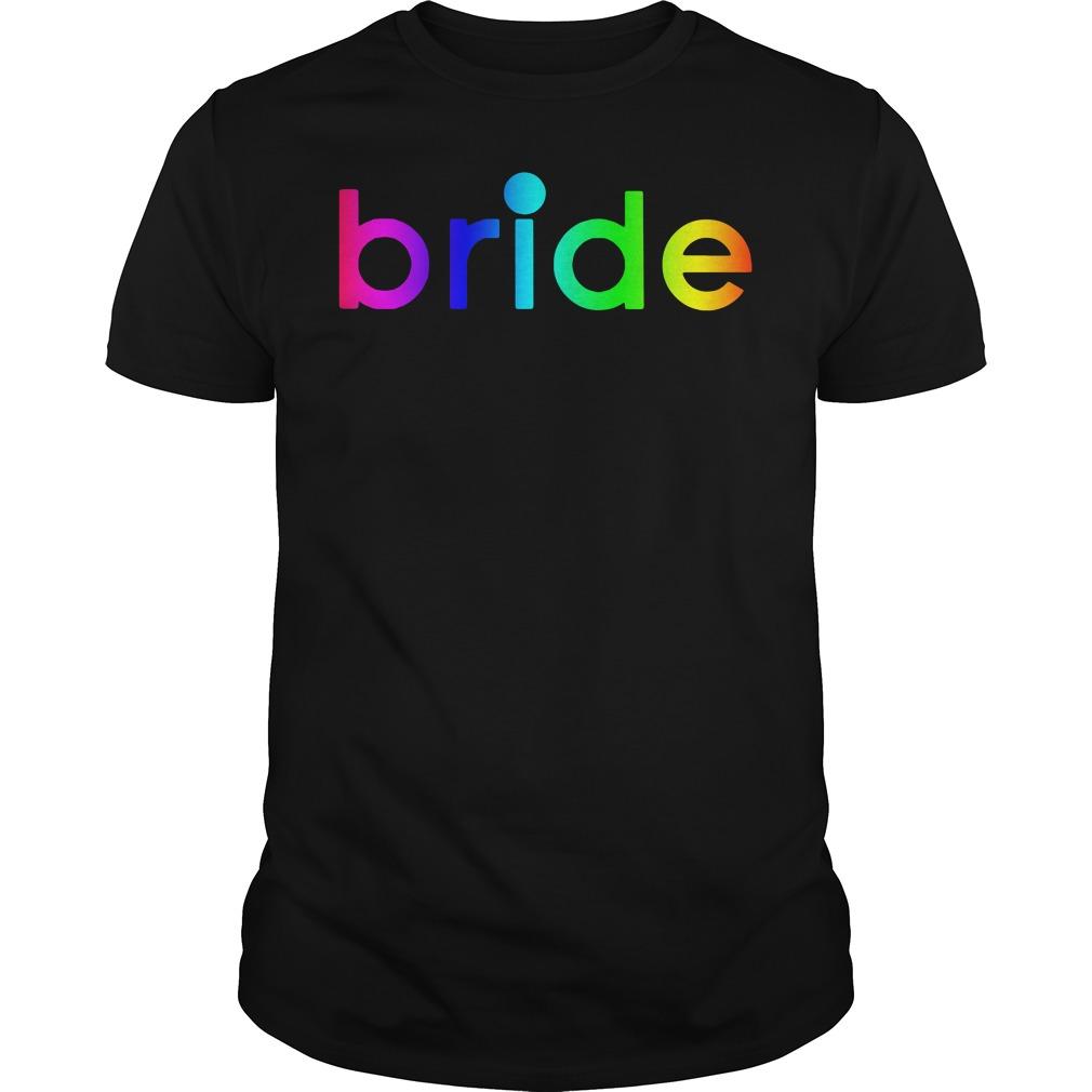 Kaley Cuoco bride LGBT Guys tee