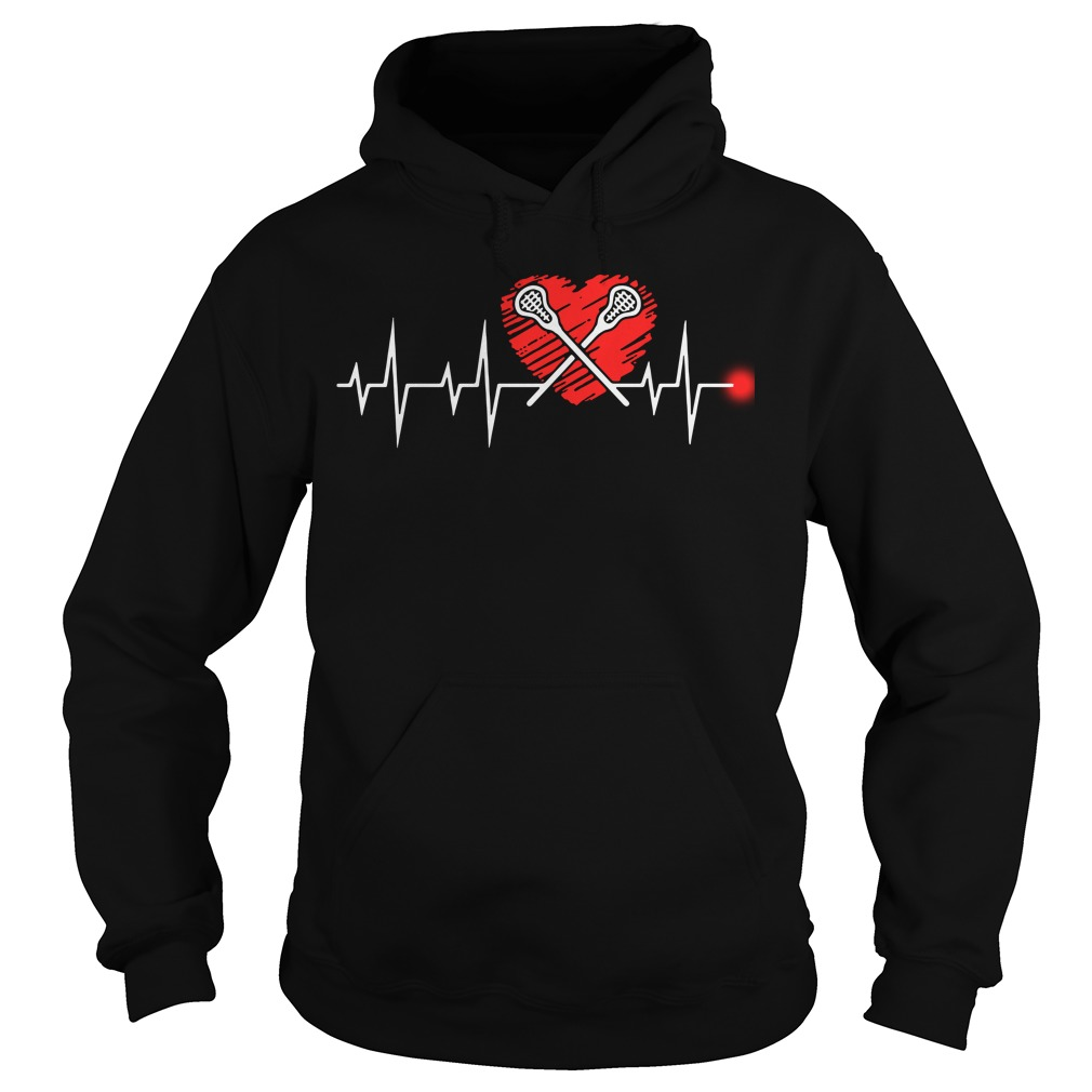 Lacrosse heartbeat Hoodie - Easy way to Buy - Official 2018