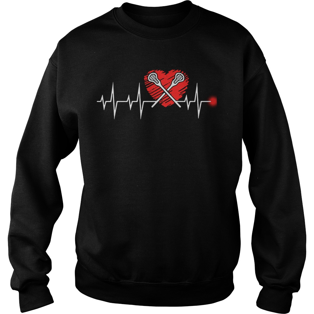 Lacrosse heartbeat Sweater - Easy way to Buy - Official 2018