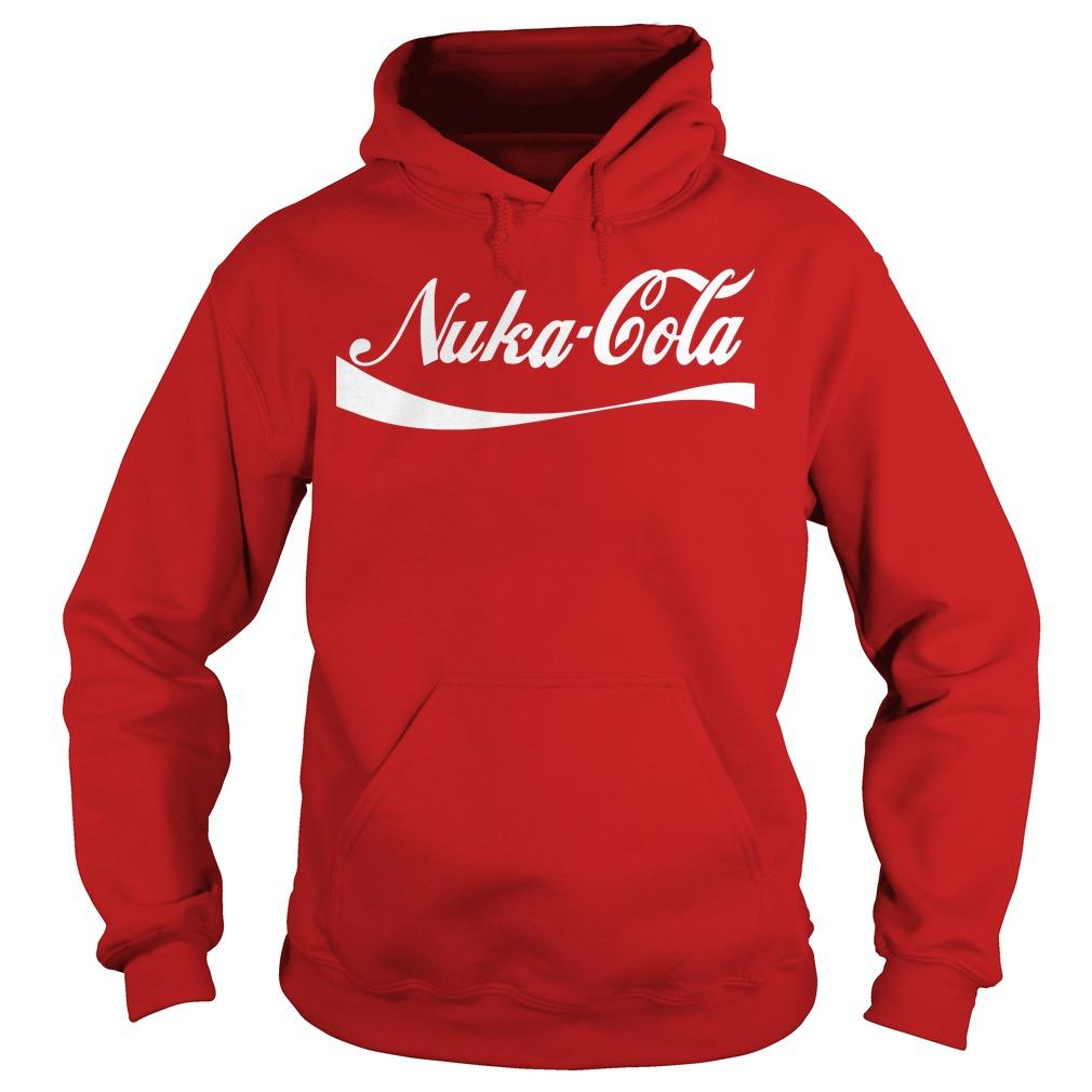 Nuka Cola parody choke Hoodie