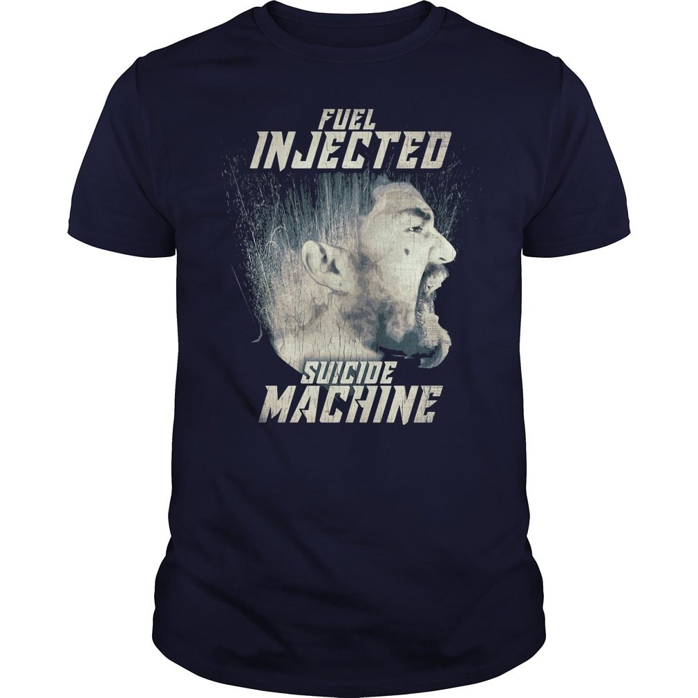 Official Fuel injected suicide machine Night Rider Guys tee