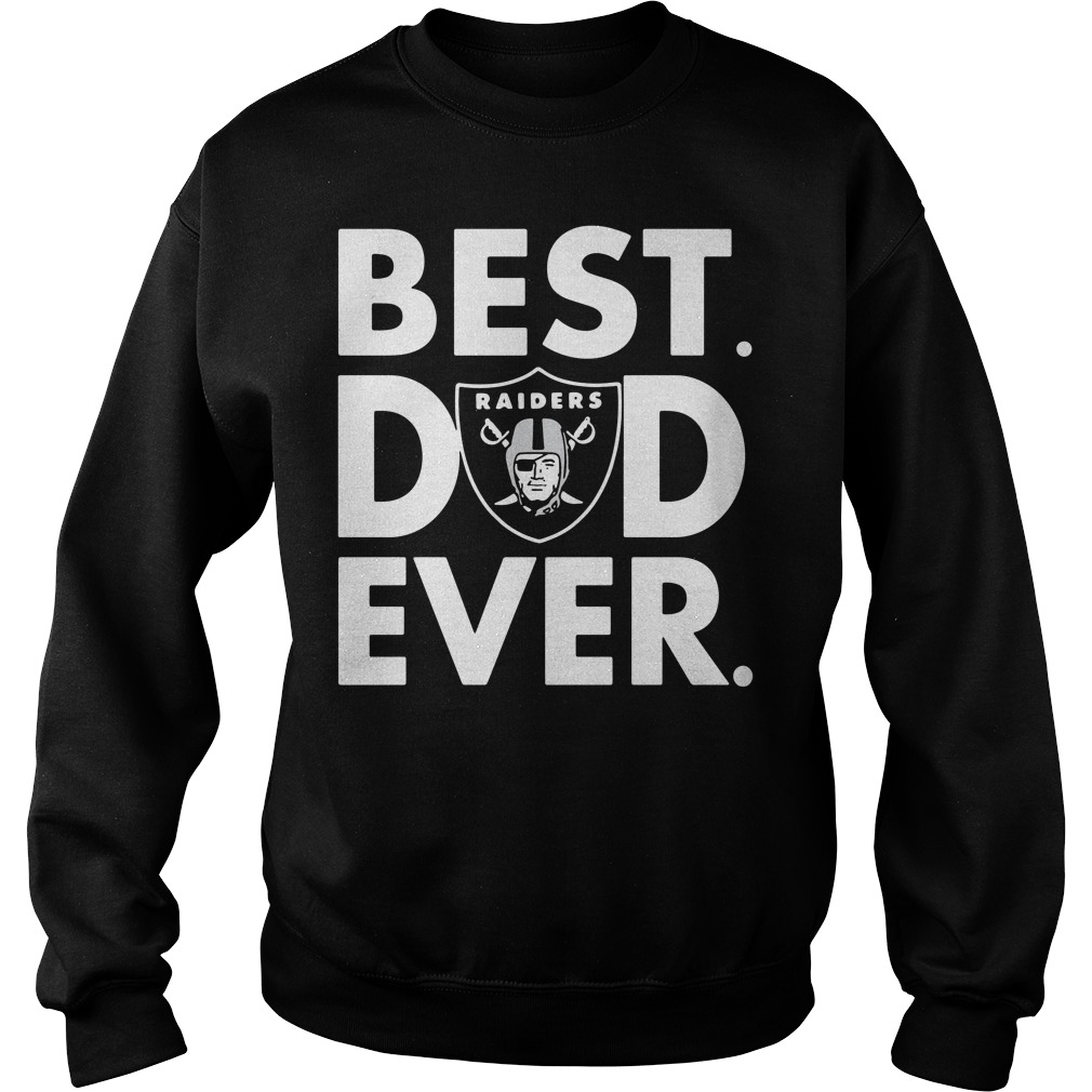 Official Oakland Raiders NFL best Dad ever Sweater