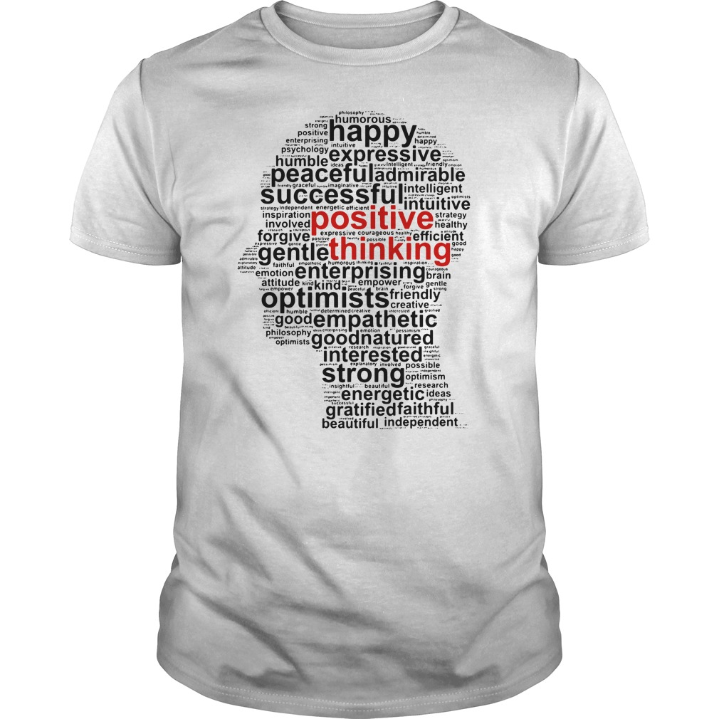 Official Positive thinking Guys tee