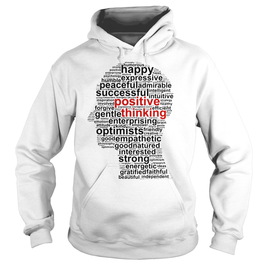 Official Positive thinking Hoodie