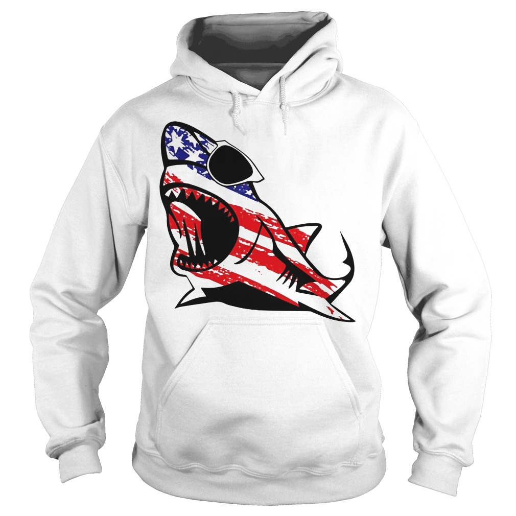 Official Shark sunglass Independence Hoodie