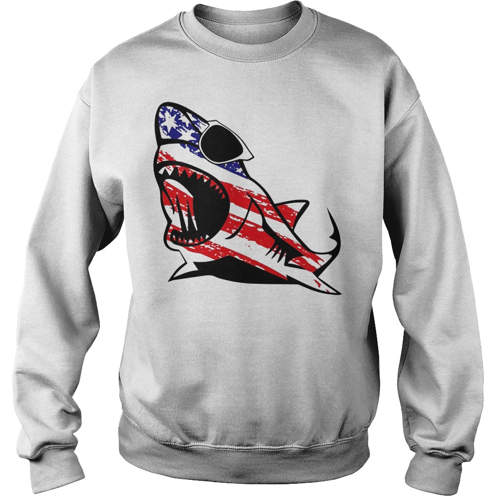 Official Shark sunglass Independence Sweater