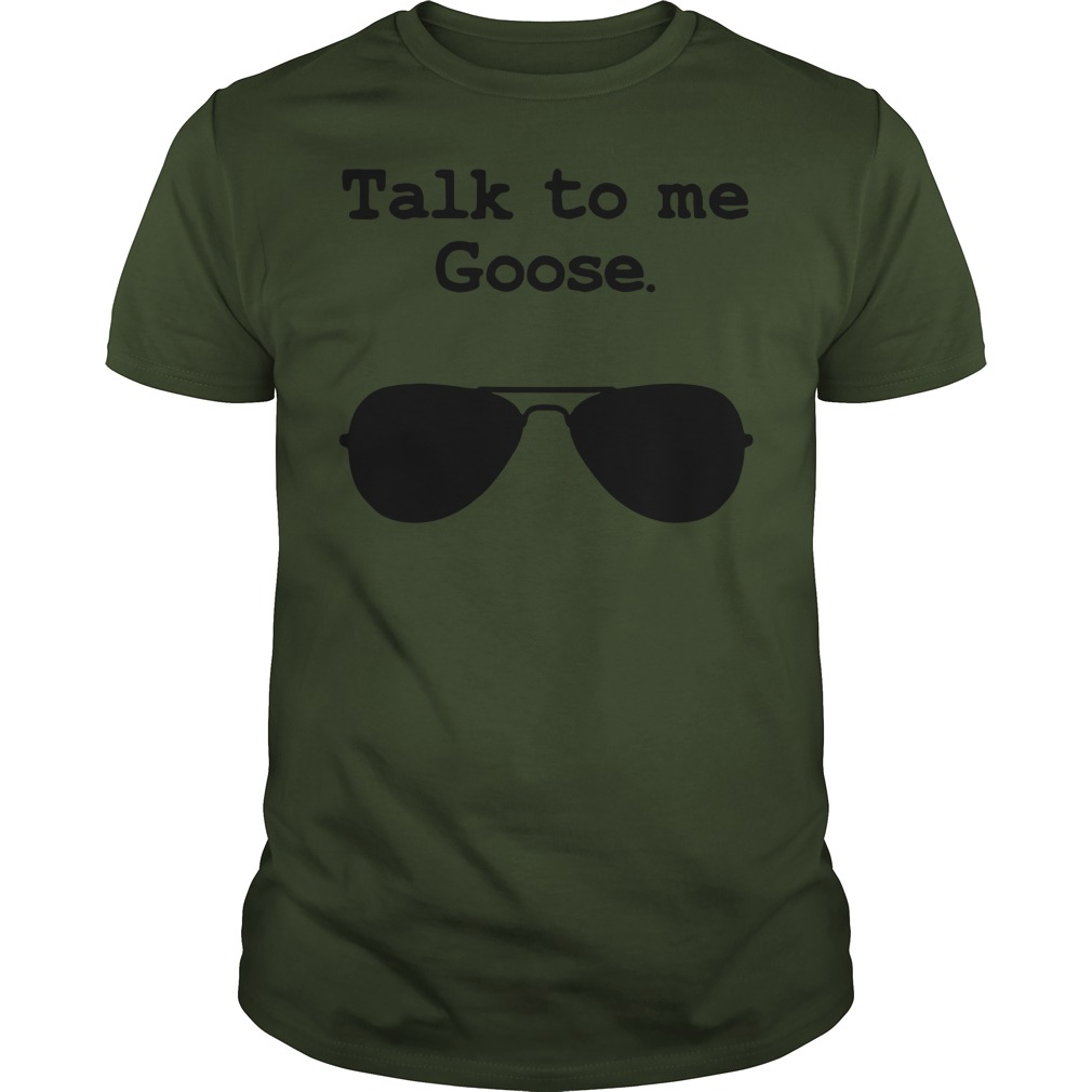 Official Talk to me Goose women's Guys tee