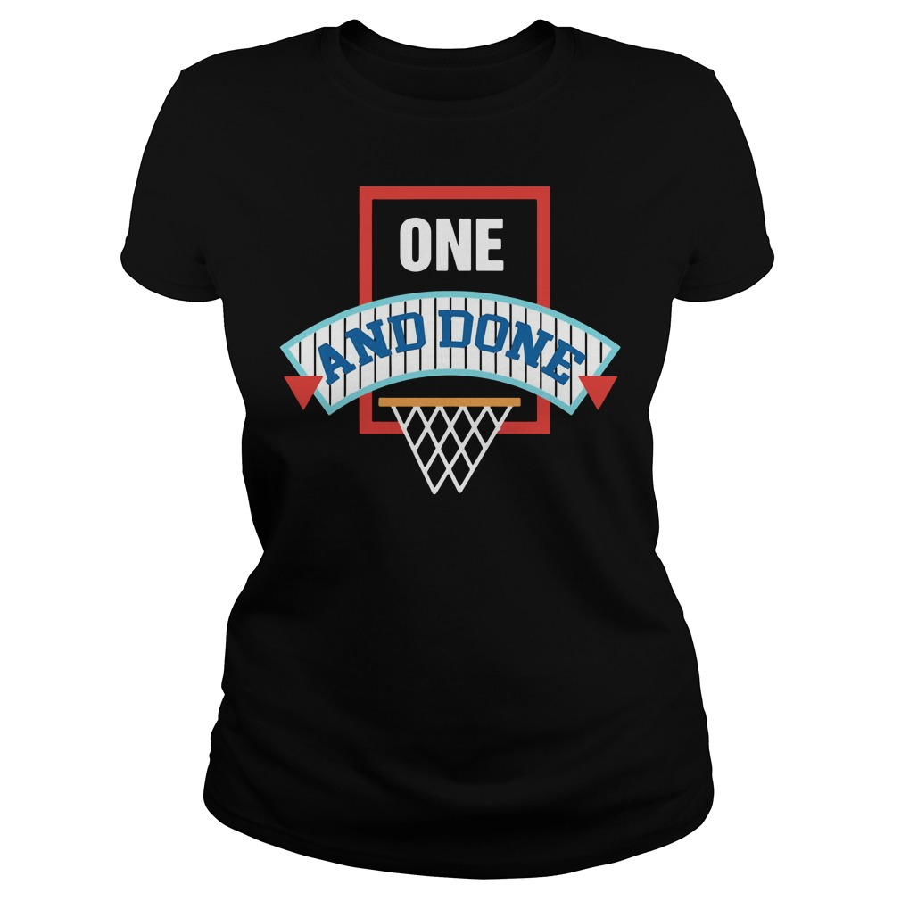 One and Done 2018 Ladies tee