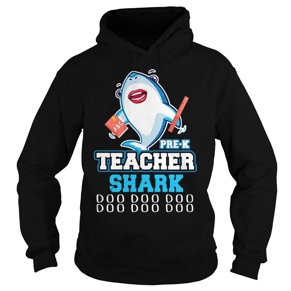 Teacher Shark doo doo doo teacher Hoodie