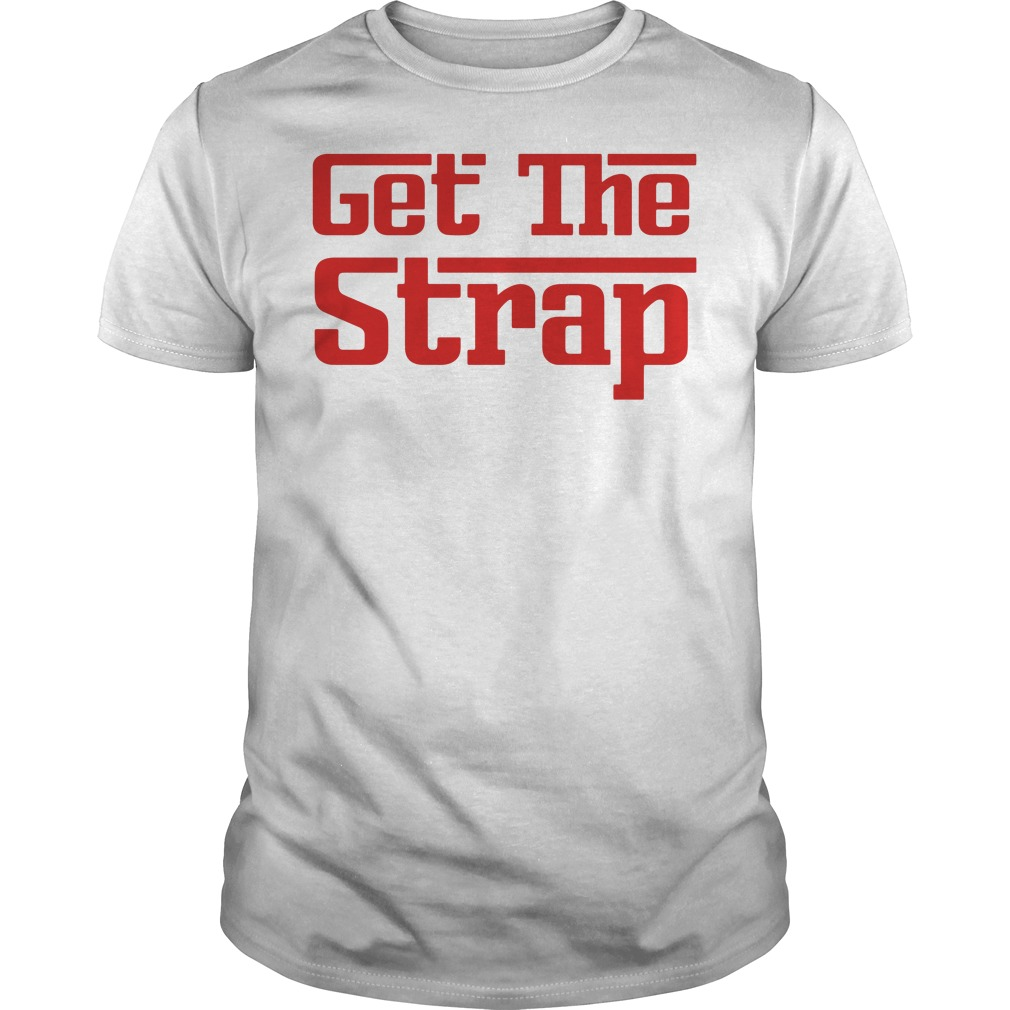 50 Cent Get The Strap Guys tee