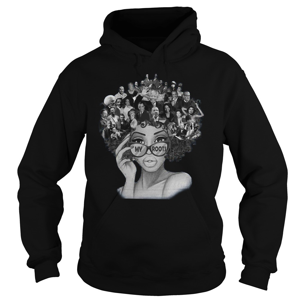African American My Roots Famous People In My Head Hoodie