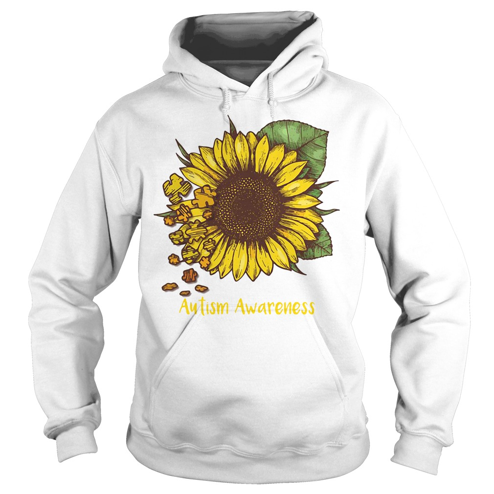 Autism awareness sunflower Hoodie