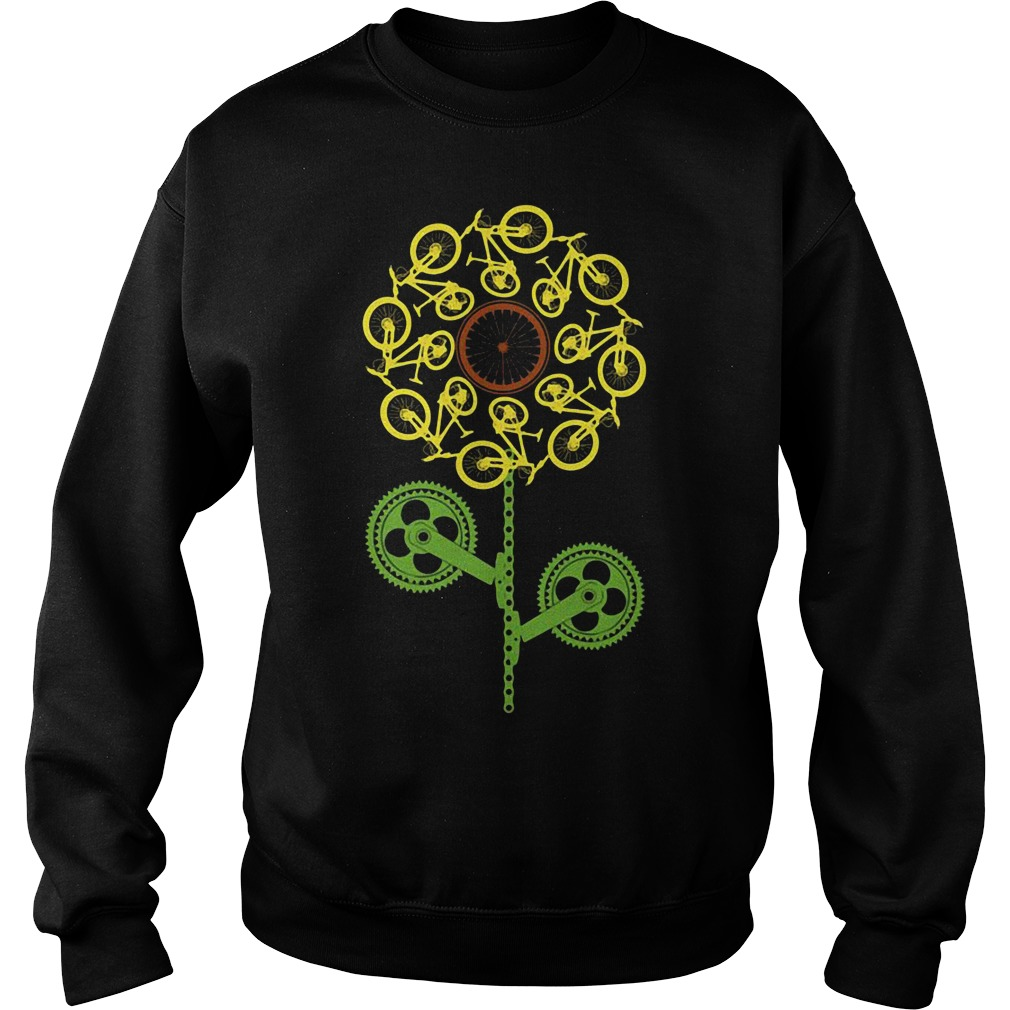 Bicycle sunflower Sweater