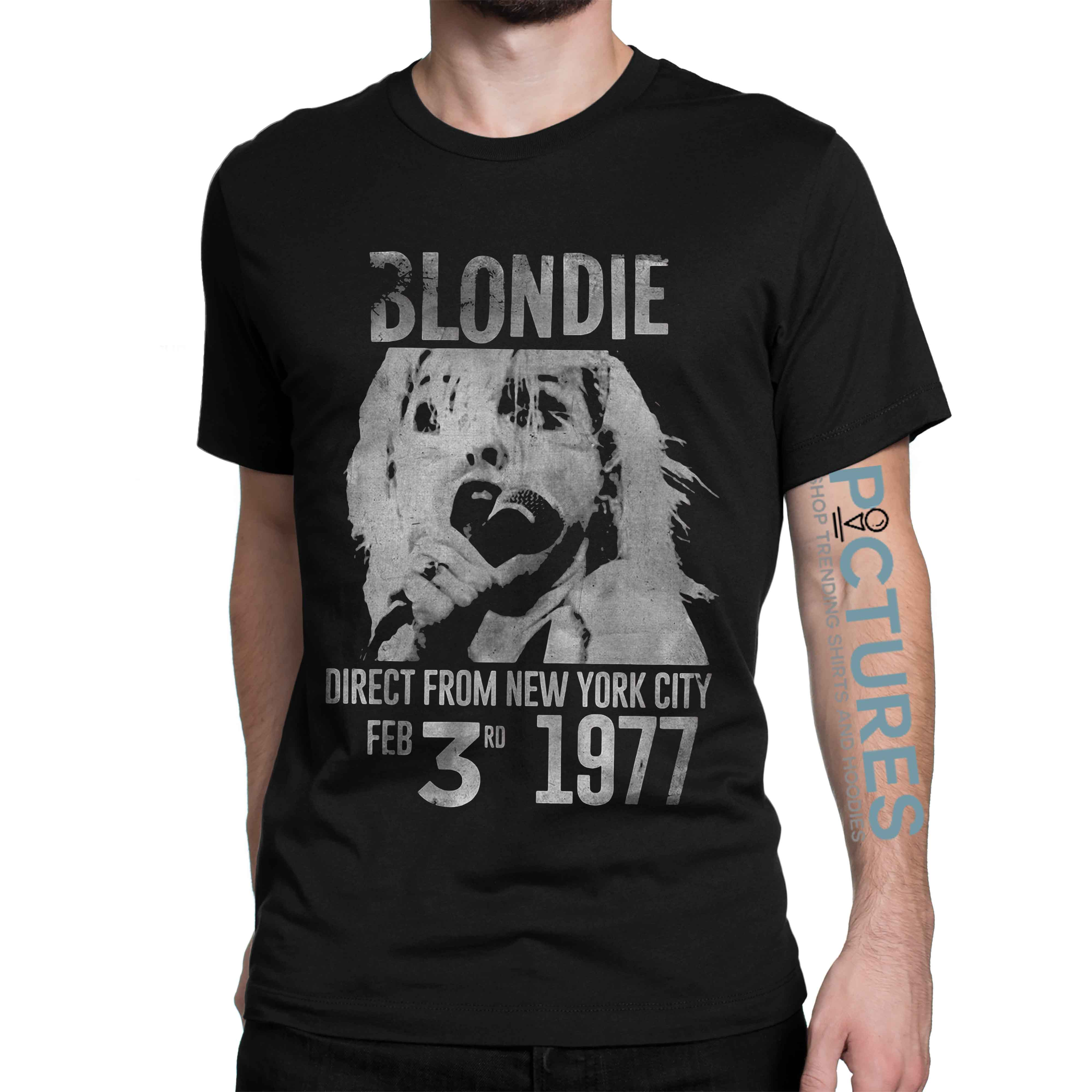 Blondie direct from city Feb 3rd 1977 shirt