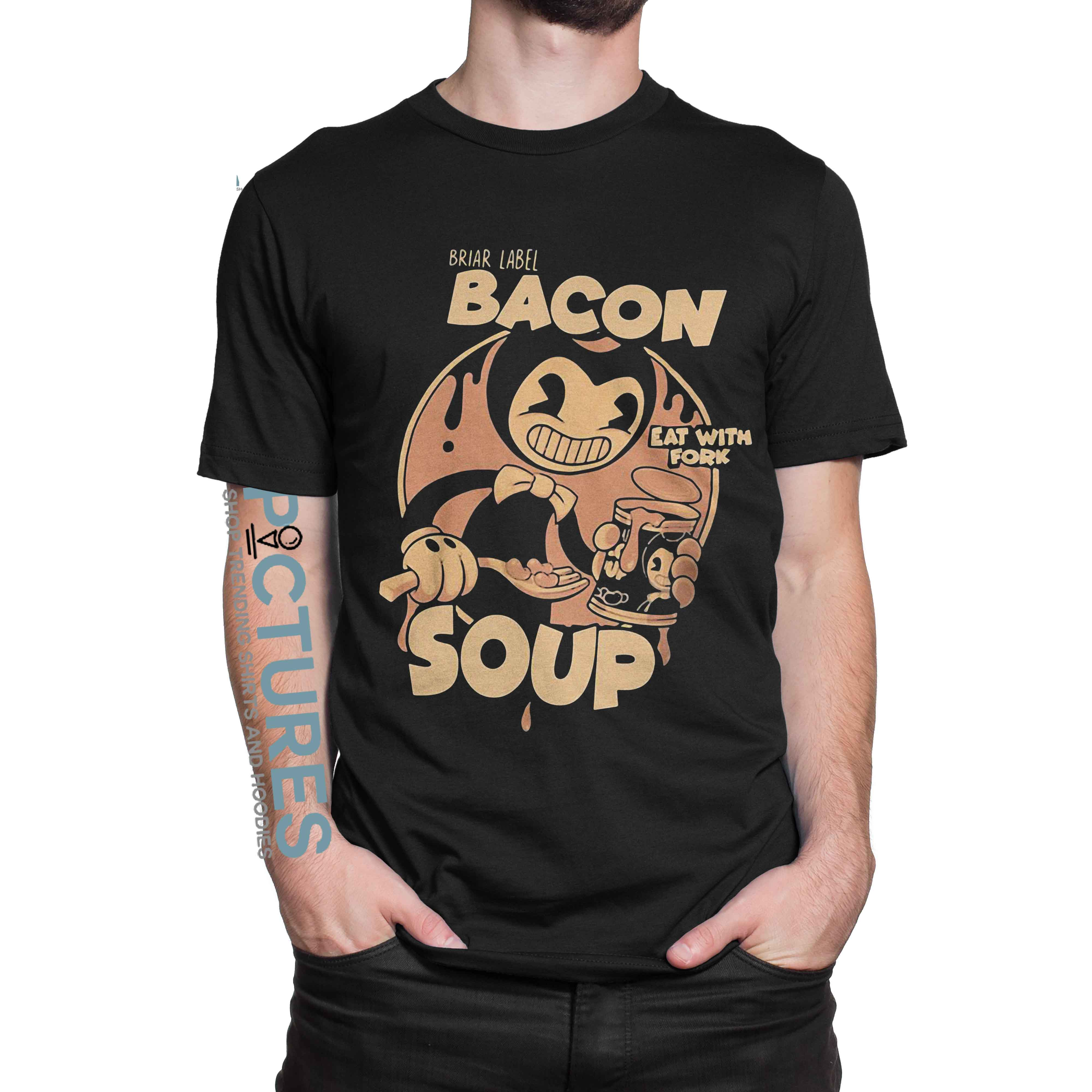 Briar Label Bacon Soup Eat With Fork shirt