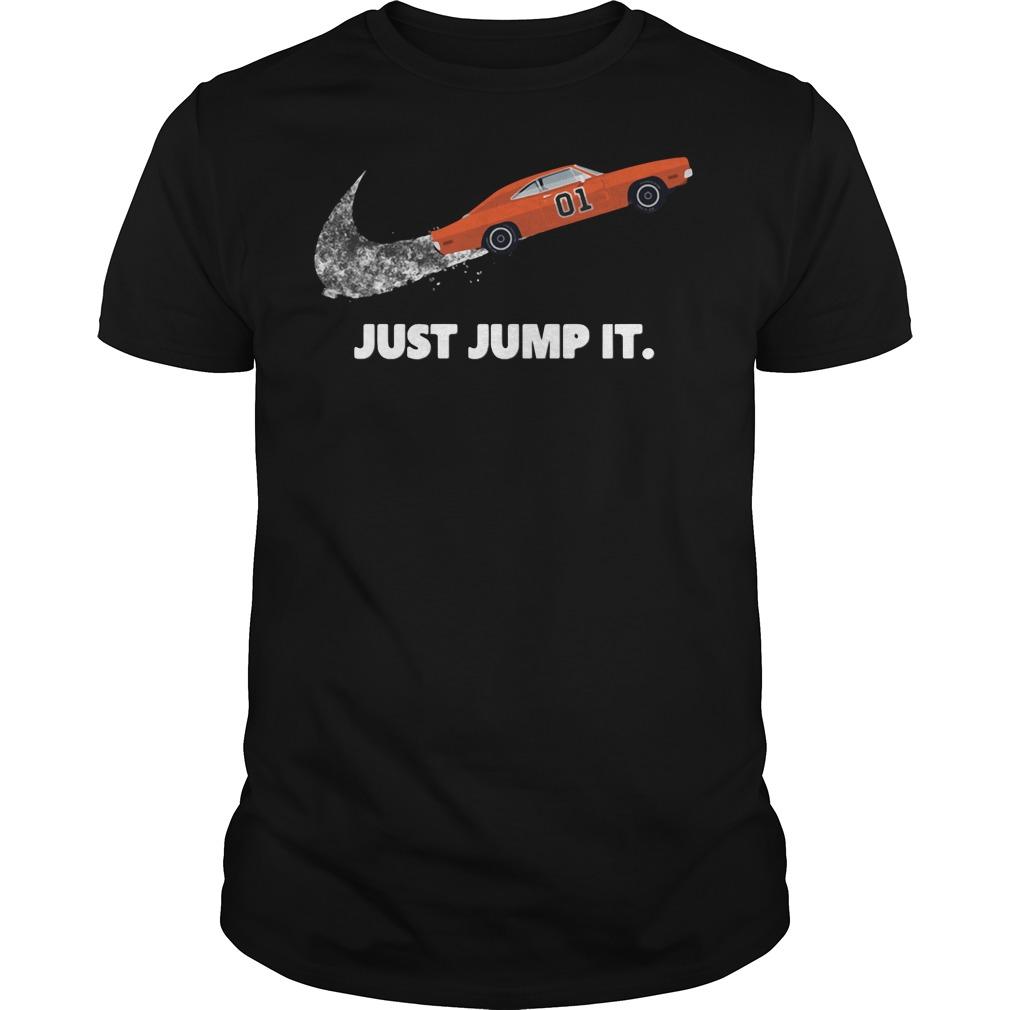 Car Just Jump It Guys tee