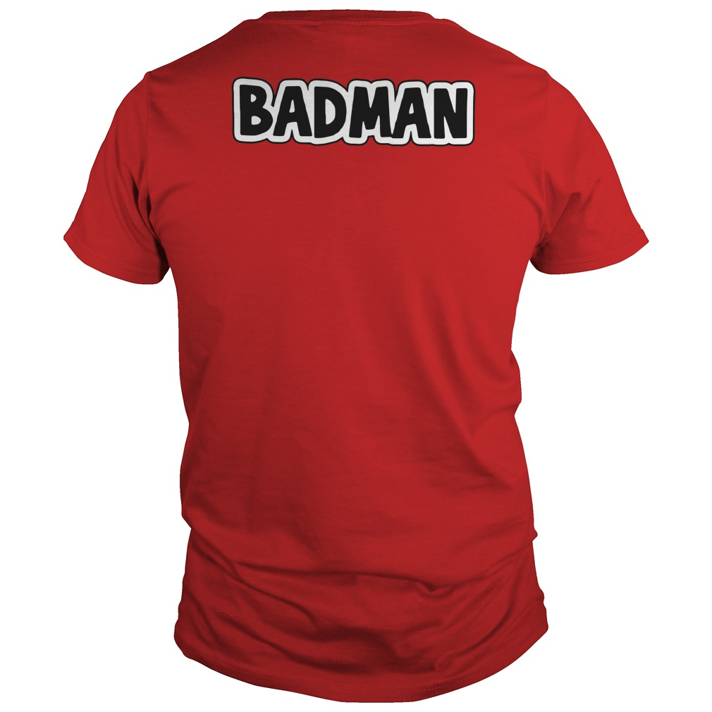 Dragon Ball Z Vegeta BadMan Guys tee