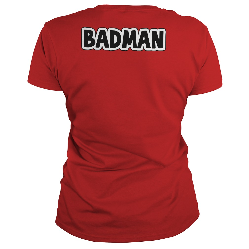 Dragon Ball Z Vegeta BadMan Ladies tee