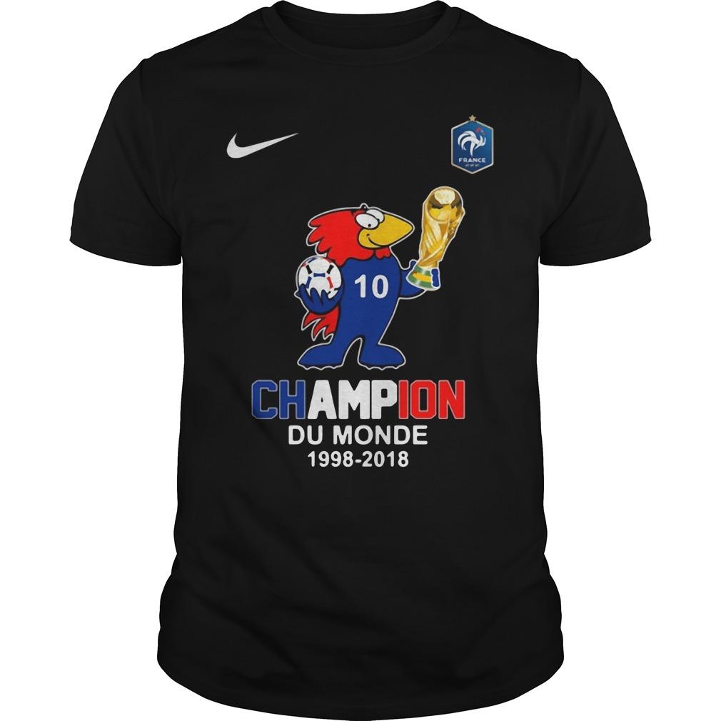 Footix Champion Du Monde Guys tee