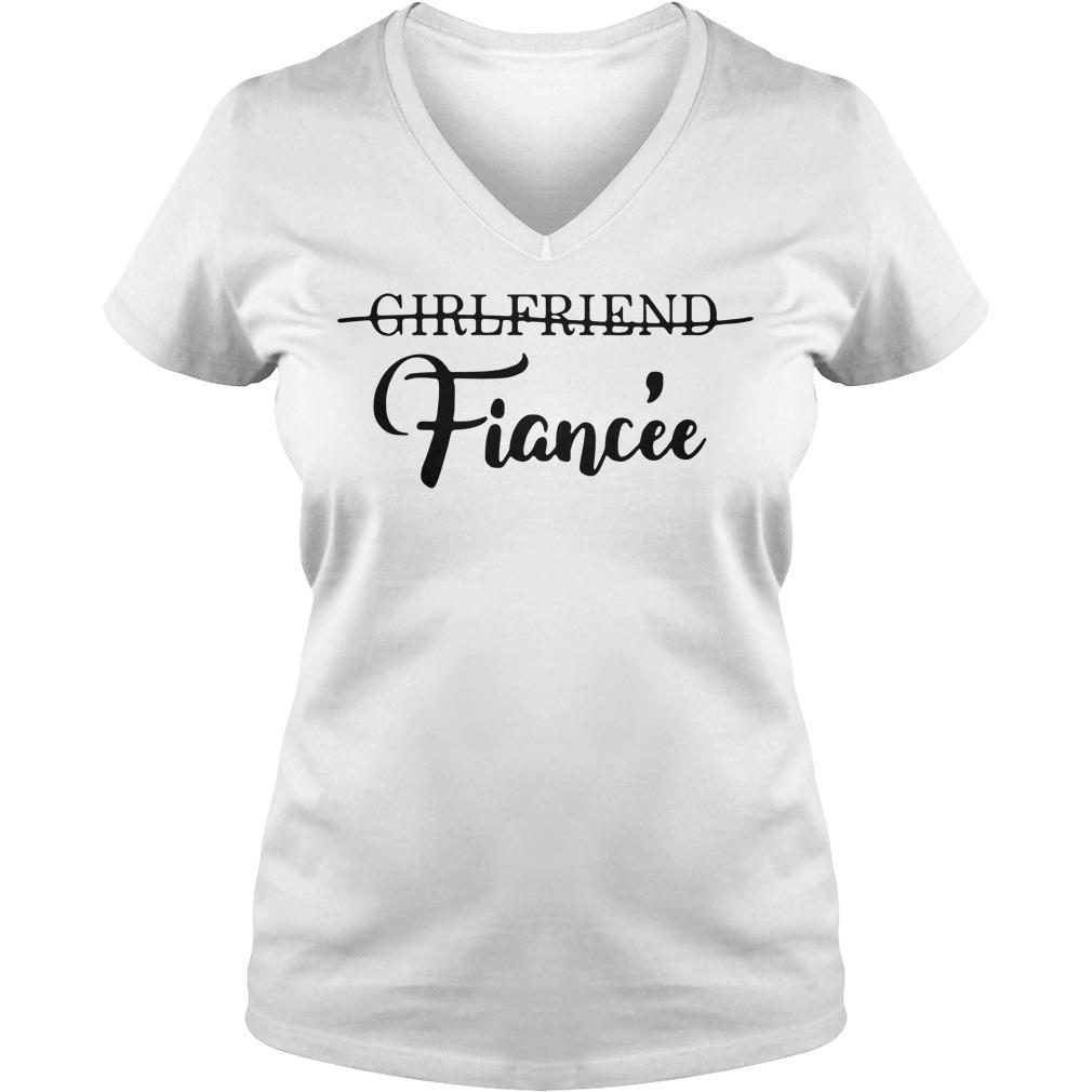 Girlfriend Fiancée V-neck