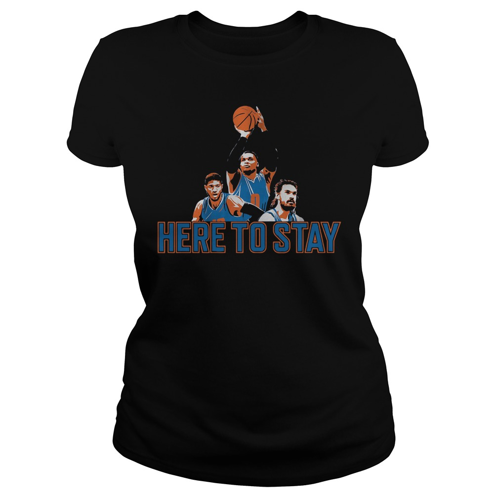 Official Here to stay Paul, Russell and Steven Ladies tee